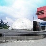Argonaute, Geode and Sciences Museum in Parc de la Villette