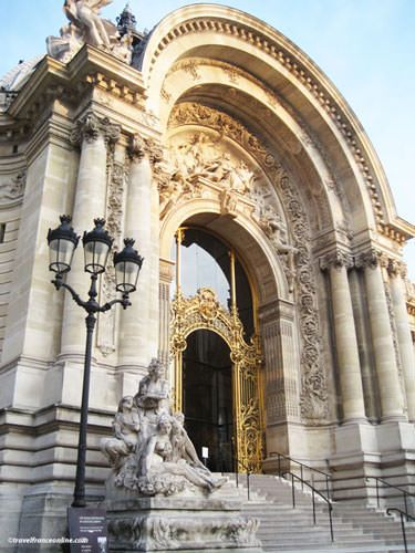 Petit Palais' monumental porch