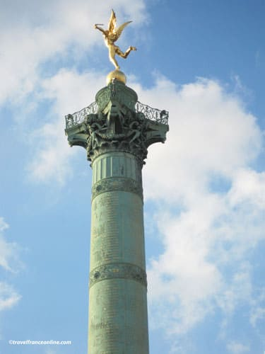 Column of Place de la Bastille