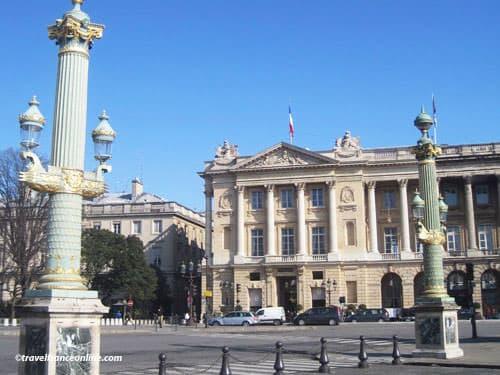 Place de la Concorde - Hotel Crillon