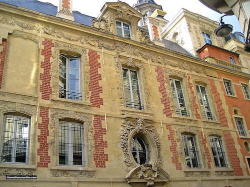 Quartier Saint Paul in the Marais in Paris