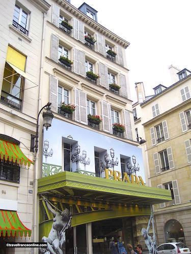 Prada in Rue St-Honore