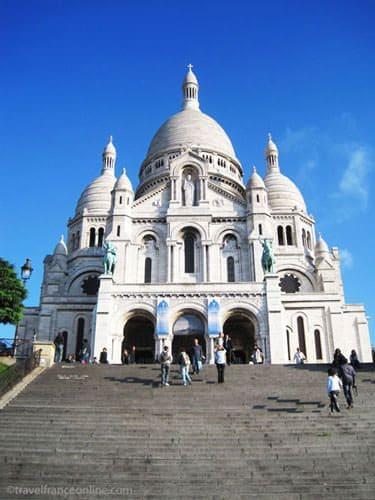Sacre-Coeur Basilica - Main facade