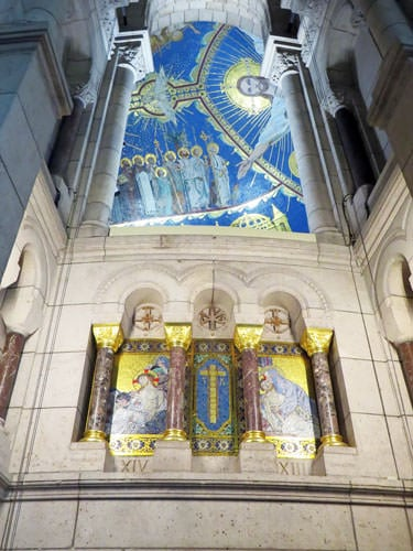 Sacre-Coeur mosaic