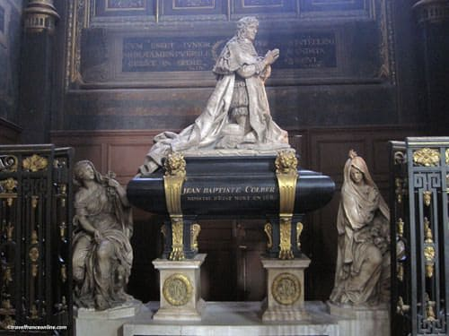 Saint Eustache Church - Colbert's tomb
