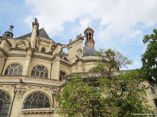 Saint Eustache Church - Detail facade