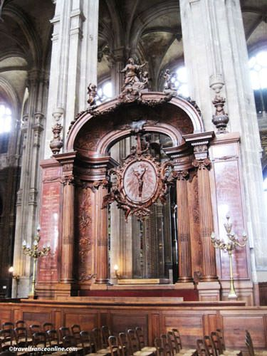 Saint Eustache Church - Wardens' pews