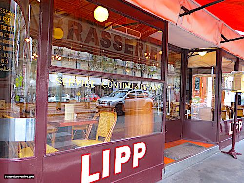 Brasserie Lipp in Saint Germain des Pres