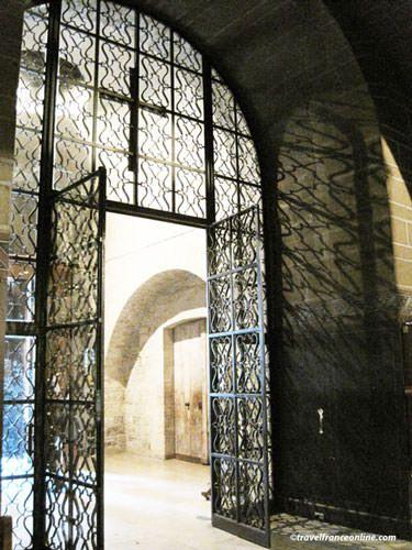Saint Germain des Pres Church - Art Deco gate by Raymond Subes