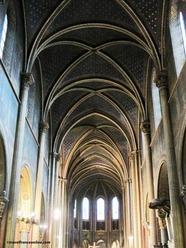 Saint Germain des Pres Church - nave