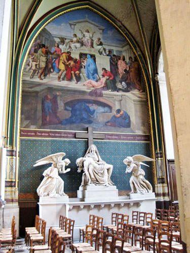 Saint Gervais Saint Protais Church - Lateral chapel