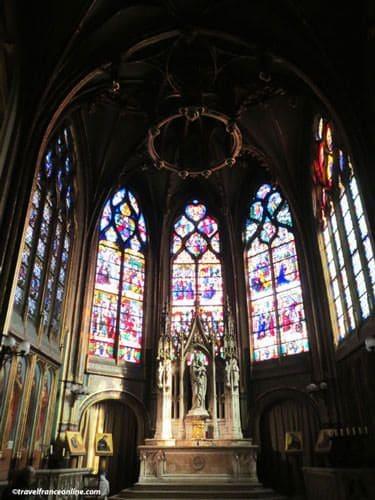 Saint Gervais Saint Protais Church - Chapelle de la Vierge