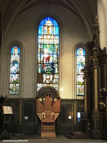 Saint Gervais Saint Protais Church - Small organ