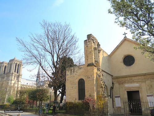 Saint Julien le Pauvre Church in the Latin Quarter