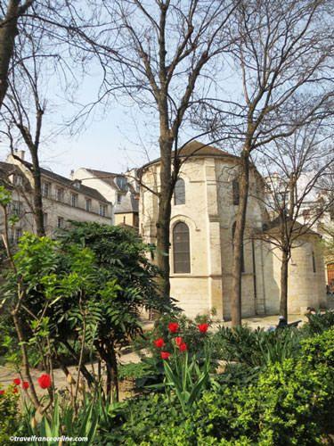 Chevet of Saint Julien le Pauvre Church