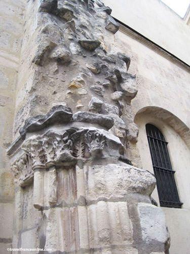 Saint Julien le Pauvre Church - Vestiges old church