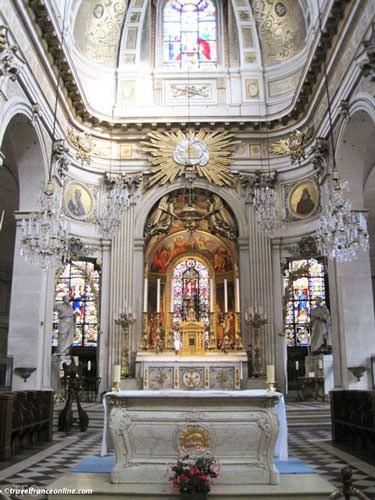 Saint Louis en l'Isle Church - Altar