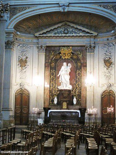 Saint Louis en l'Isle Church - Virgin with Child