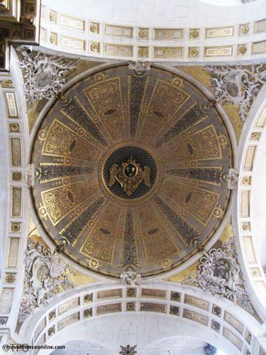 Saint Louis en l'Isle Church - Baroque cupola