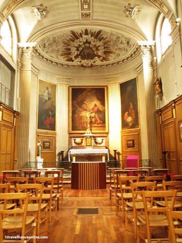Saint Louis en l'Isle Church - Chapel of the Holy Sacrament