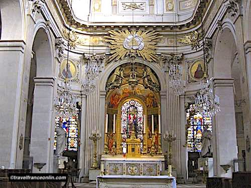 Saint Louis en l'Isle Church in Paris
