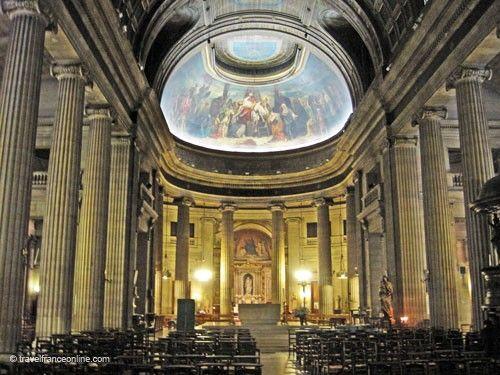 Saint-Philippe-du-Roule Church - nave