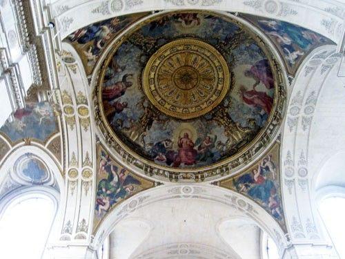 Saint Roch Church - Transept central cupola