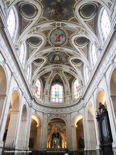 Saint Roch Church - Painted cupolas