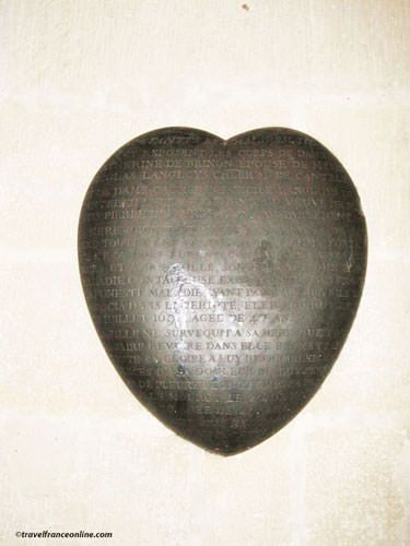 Saint Severin Church - Black Heart
