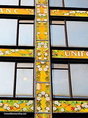 La Samaritaine - Art Nouveau patterns