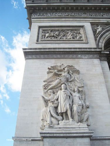 Le Triomphe de 1810 on Arc de Triomphe