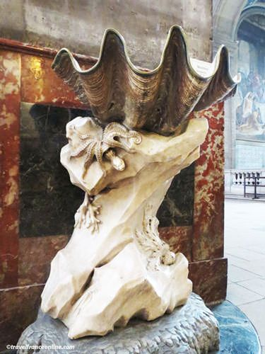 St Sulpice Church Font sculpted by Pigalle