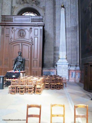 Gnomon of St Sulpice Church