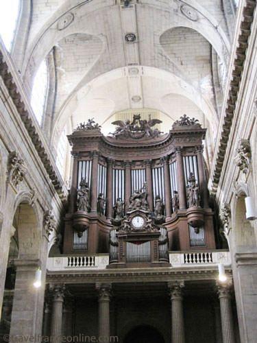St Sulpice Church - Great organ