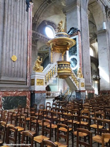 St Sulpice Church - Rostrum