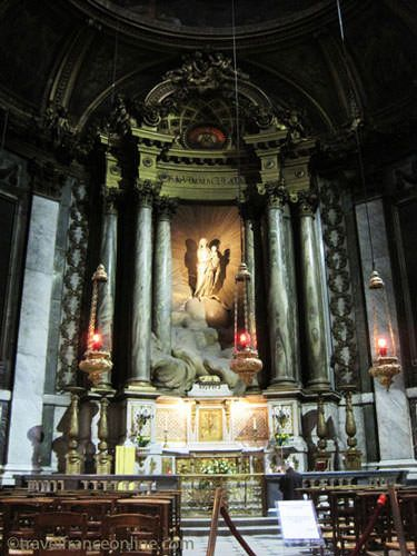 St Sulpice Church - Virgin with Child by Pigalle