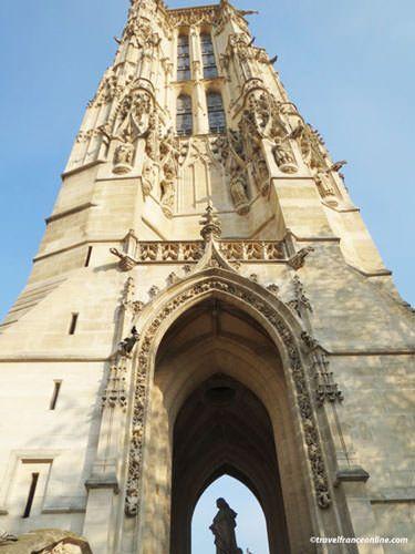 Tour Saint Jacques Flamboyant architecture