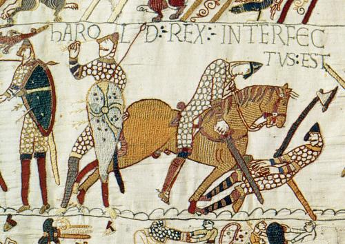 Bayeux Tapestry - Harold dead