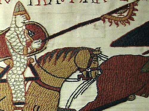 Raven banner - Bayeux tapestry