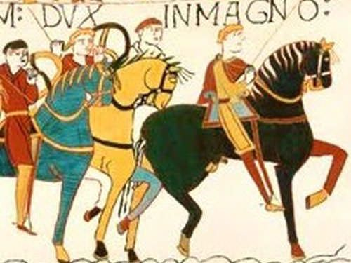 About Normandy - William the Conqueror - Bayeux Tapestry