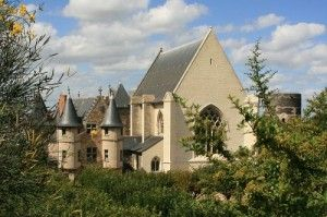 Angers castle - Chatelet, Chapel and Tour du Moulin