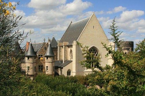 Angers castle - Chatelet, Chapel and Tour du Moulin