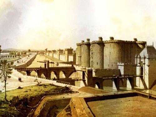 Bastille in 1420 - Bastille day