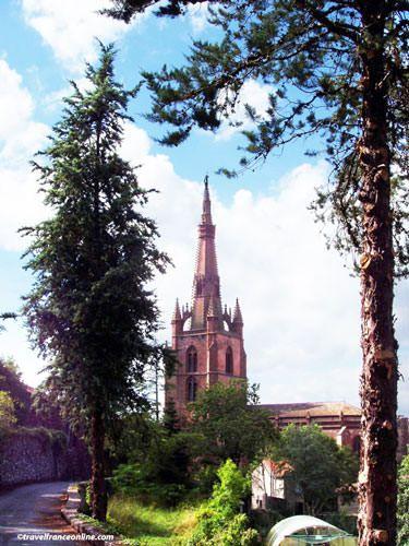 Belmont sur Rance Collegiate Church spire