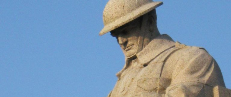 Brooding Soldier Canadian Memorial – WWI