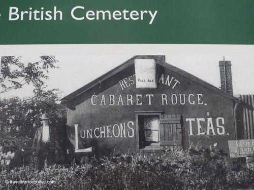 Cabaret Rouge CWGC Cemetery - Cabaret Rouge Café