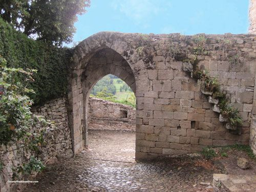 Capdenac le Haut - Porte Narbonnaise - Porte Vigane