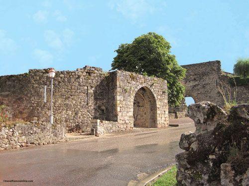 Capdenac le Haut - Porte de Gergovie