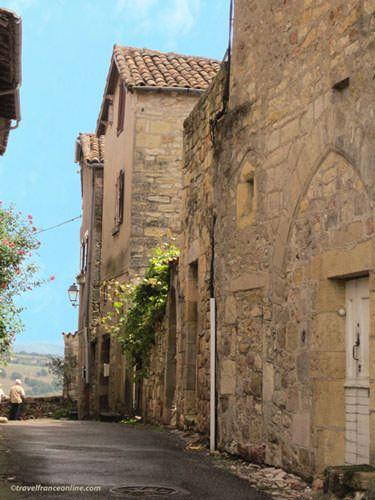 Capdenac le Haut - Rue de la Peyrolerie