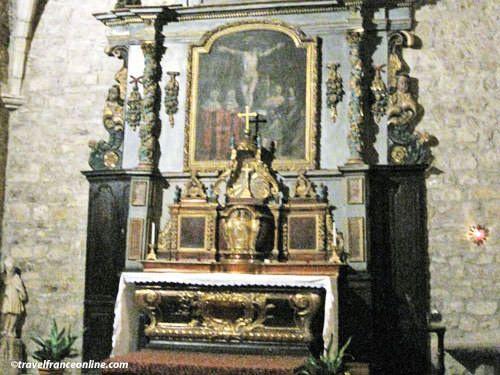 St. Jean le Baptiste Church altar